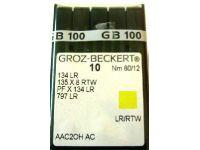 арт. 578 Иглы швейные 134LR  №90-№180 GROZ-BECKERT Иглы швейные Германия