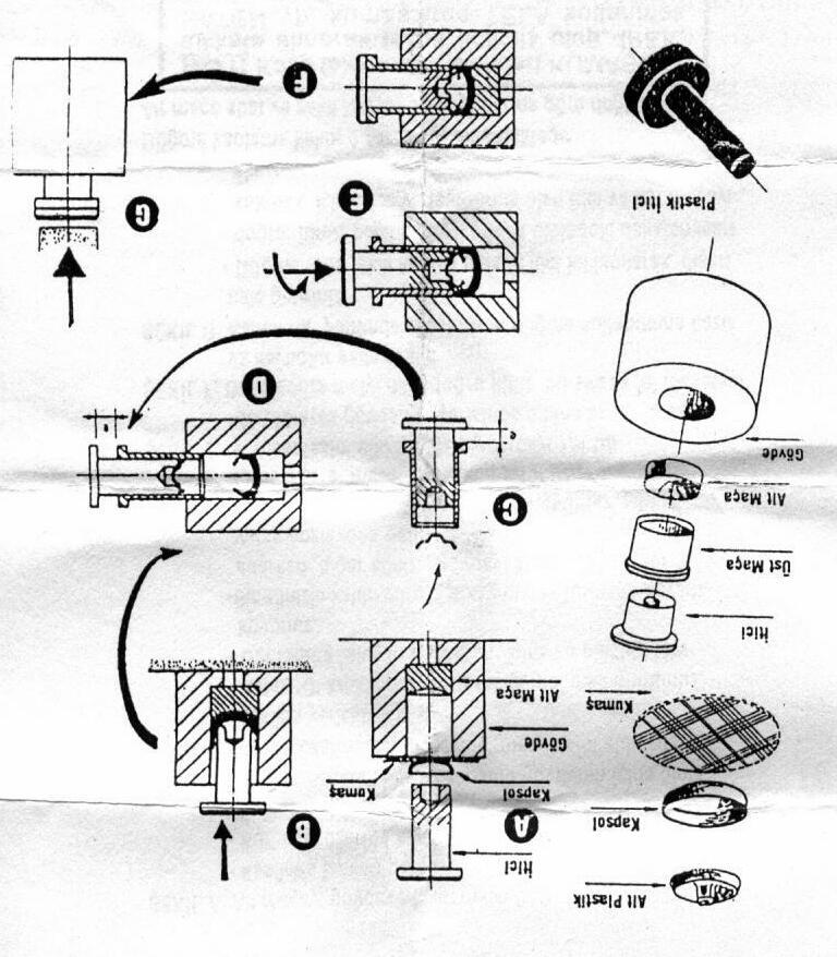 Пресс для обтяжки пуговиц своими руками
