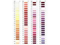 арт. 438 Карта цветов швейных Нитки Россия